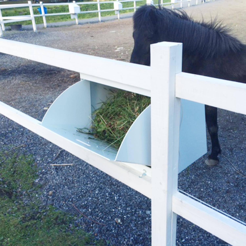 automatisk utfodring häst